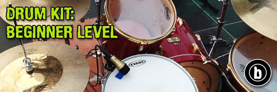 Drum Kit Beginner Course