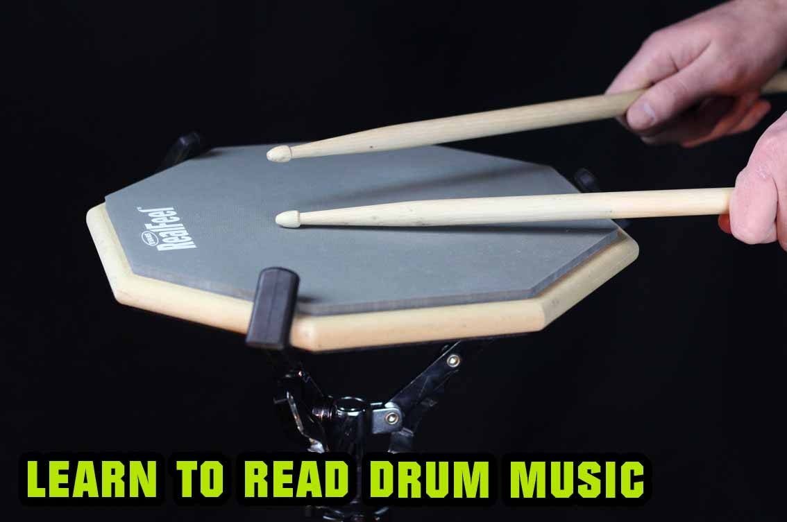 Learn to read drum music online