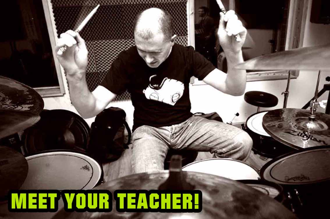 Learn drums with Andy Mac